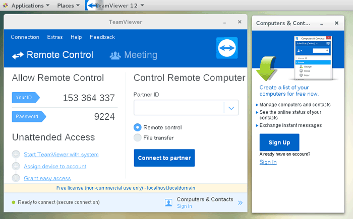 How to Install TeamViewer on CentOS 7