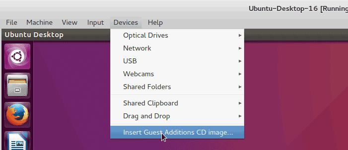 Install VirtualBox Guest Additions on Ubuntu Virtual Machine