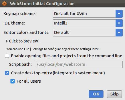 How to Install WebStorm JavaScript IDE on Ubuntu