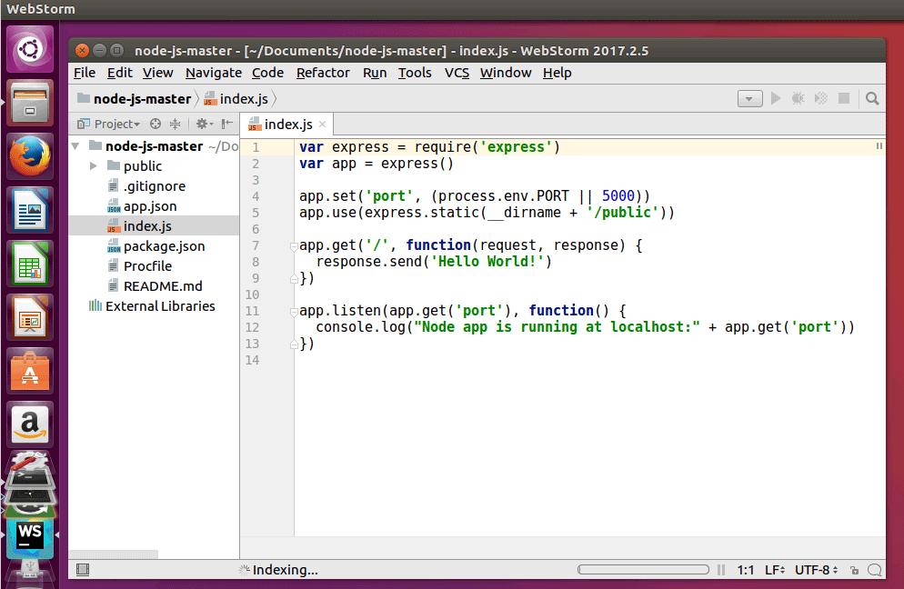 How to Install WebStorm JavaScript IDE on Ubuntu